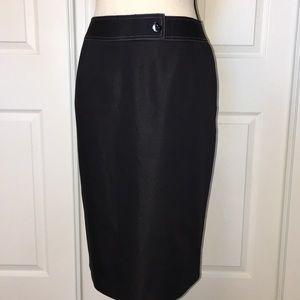 Beautiful Alex Marie black pencil skirt